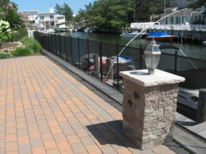 boat dock fence installation Long Island