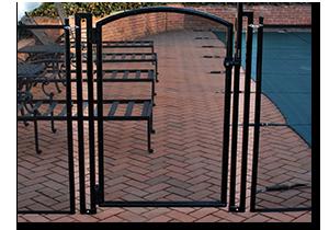 Self Closing Swimming Pool Gate