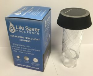 life saver pool fence solar lights