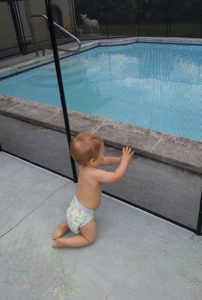 Child Safety Fence for Swimming Pools