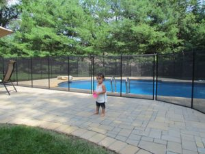 swimming pool child safety tips when moving to a new house