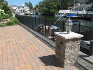 boat dock fence installation Long Island
